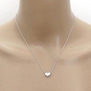 Tiffany & Co. Mini Bean Pendant Necklace